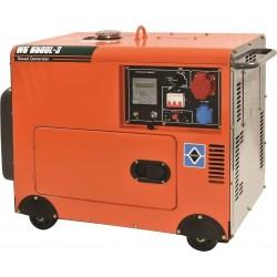 WS 8500L-3 Ηλεκτρογεννήτρια Πετρελαίου 6400 W