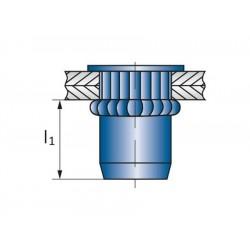 Πριτσίνια σπειρώματος  SFM-R M6