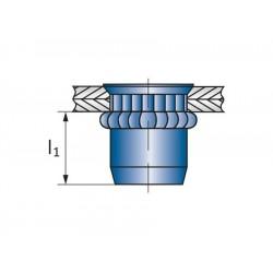 Πριτσίνια σπειρώματος  SSM-R M10