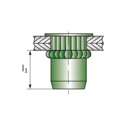 Πριτσίνια σπειρώματος EFM-R M6