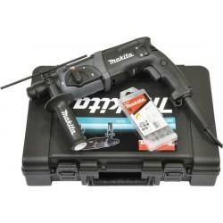 HR2470BX40 Μαύρη Έκδοση Περιστροφικό Πιστολέτο 780W, SDS-Plus + σετ Τρυπάνια