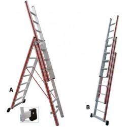 800307 Σκάλα Αλουμινίου Επαγγελματικής χρήσης 3x7