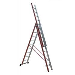 800309 Σκάλα Αλουμινίου Επαγγελματικής χρήσης 3x9