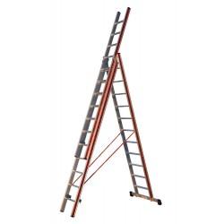 800311 Σκάλα Αλουμινίου Επαγγελματικής χρήσης 3x11