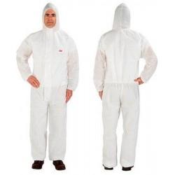 4515 Φόρμα Προστασίας Άσπρη Μίας Χρήσεως M-XXL