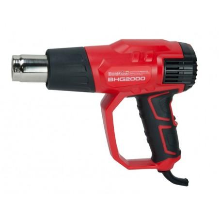 BHG2000 Πιστόλι Θερμού Αέρος 2000W με εξαρτήματα