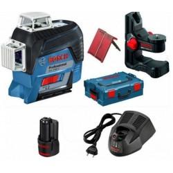 GLL 3-80 C Γραμμικό Laser 3 Κόκκινων Ακτίνων
