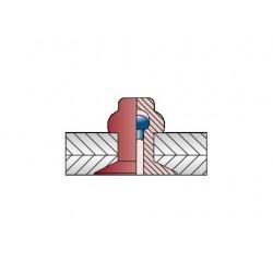 CERTO Με Επίπεδο Κεφάλι  A2/Alu 3,2 x 8 (Κουτί 500 τεμαχίων)