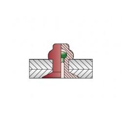 CERTO Στεγανά Φρεζάτο Alu/A2 4 x 11 (Κουτί 500 τεμαχίων)