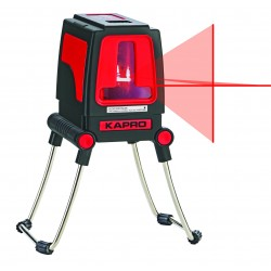 633112 Laser Γραμμικό Σταυρού 30m 2 ακτίνων (Κόκκινη Δέσμη)