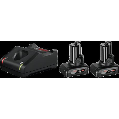 Set Φορτιστής GAL 12V-40 + 2 μπαταρίες GBA 12V 6.0Ah
