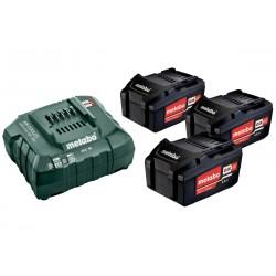 Set Φόρτισης 12V Φορτιστής ASC 55 + 2x4.0Ah Μπαταρίες LiHD