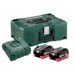 Set Φόρτισης 18V Φορτιστής ASC 55 + 2x4.0Ah Μπαταρίες LiHD