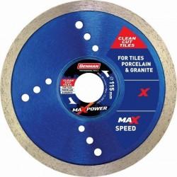 Διαμαντόδισκος MAXPOWER CLEAN CUT Πλακιδίων 125x1,4x7w (συσκευασία 25 τεμαχίων)