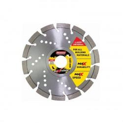 Διαμαντόδισκος MAXPOWER UNIVERSAL-LASER 230x2,6x10