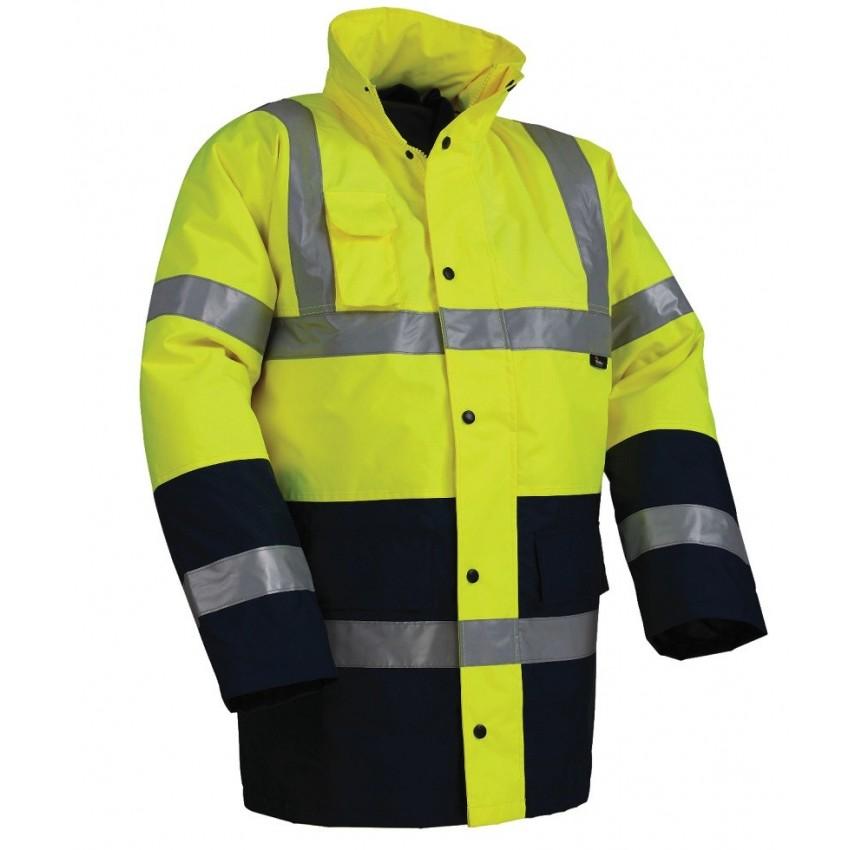 725020 Μπουφάν HAMBURG Υψηλής Διακριτότητας (L Κίτρινο, Πορτοκαλί)