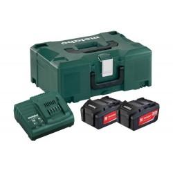 Σετ Φόρτισης 2 x 5.2 Ah  μπαταρίες  &1x φορτιστής ASC 30–36 V