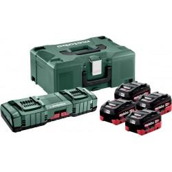 Σετ Φορτιστής 4 x LiHD 5.5Ah + ASC 145 DUO + MetaLoc