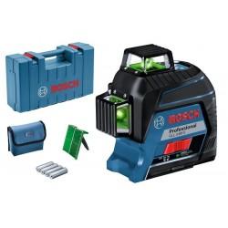 GLL 3-80 G Professional Γραμμικό Laser 3 Γραμμών Πράσινης Δέσμης