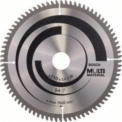 Δίσκος Multi Material 216x30 Z80 Αλουμινίου