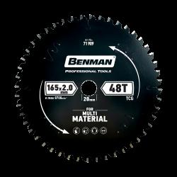Πριονόδισκος Multi Material 165x20mm