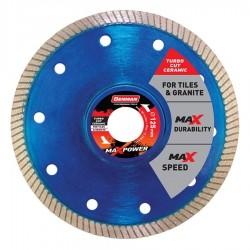 Διαμαντόδισκος MAXPOWER TURBO CUT CERAMIC 125mm