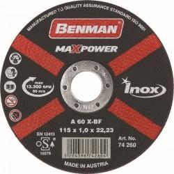 74260 Δίσκος Κοπής Inox-CD 115mm (συσκευασία 25 τεμαχίων)