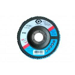 ZAI 125 Z120 Δίσκος Λείανσης ΦΙΜΠΕΡ 125mm No120