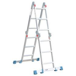 BHL5040 Σκάλα Πολυμορφική Αλουμινίου 4x3