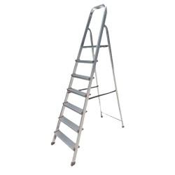 BHL5005 Σκάλα Αλουμινίου 5+1 Σκαλιά