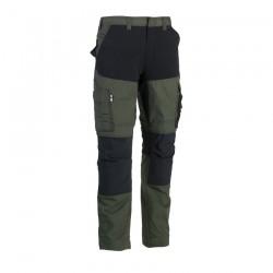 Hector trousers DARK KHAKI/BLACK 40