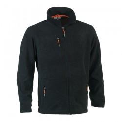Ilias fleece jacket ANTHRACITE XL