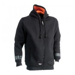 Odysseus hooded sweater BLACK XL