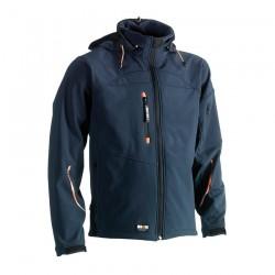 Poseidon soft shell jacket NAVY