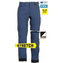 Tornado Zip Off trousers STORM BLUE 40