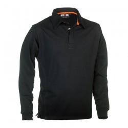 Troja Polo Long Sleeves BLACK XL