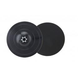 37678 Βάση Velcro Πλαστική Εύκαμπτη Για Γωνιακό Τροχό Μ14 125mm