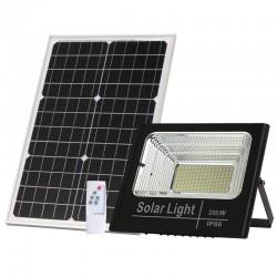 BLF2500 Προβολέας LED Ηλιακός 200W με Φωτοβολταϊκό Πάνελ