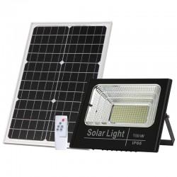 BLF2400 Προβολέας LED Ηλιακός 150W με Φωτοβολταϊκό Πάνελ