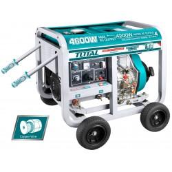 TP446001 Ηλεκτρογεννήτρια Πετρελαίου 9Hp 418cc με Ηλεκτροκόλληση 180Α