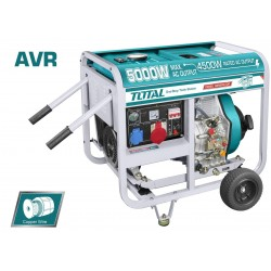 TP450003 Ηλεκτρογεννήτρια Diesel Τριφασική 4.500W