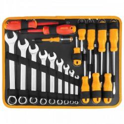 HKTHP21471 Σετ 147 τεμ. Εργαλεία σε Εργαλειοθήκη - Βαλίτσα Αλουμινίου