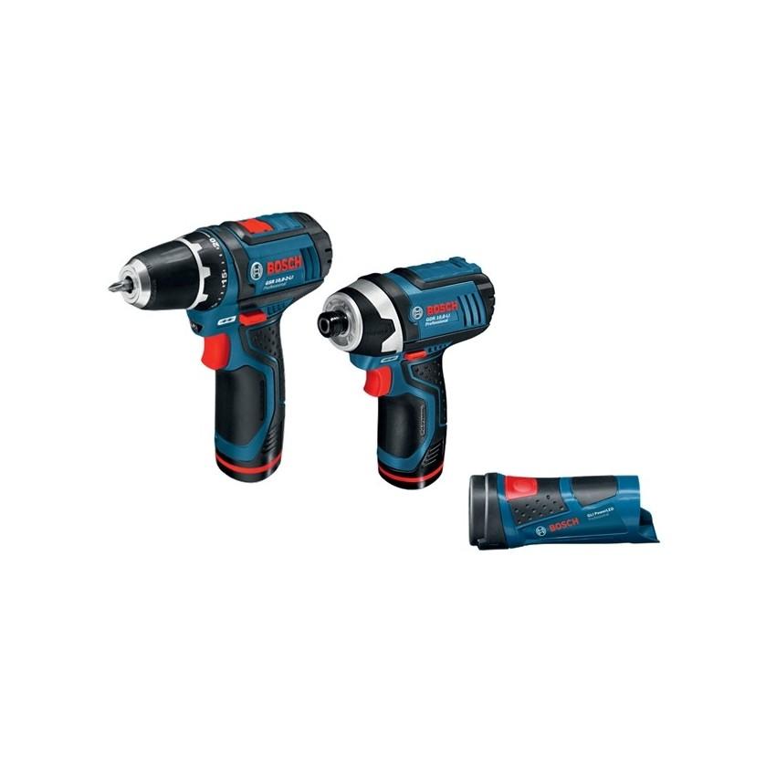 GSR 10,8-2-LI Pro+ GDR 10,8-LI Pro+ GLI PowerLed