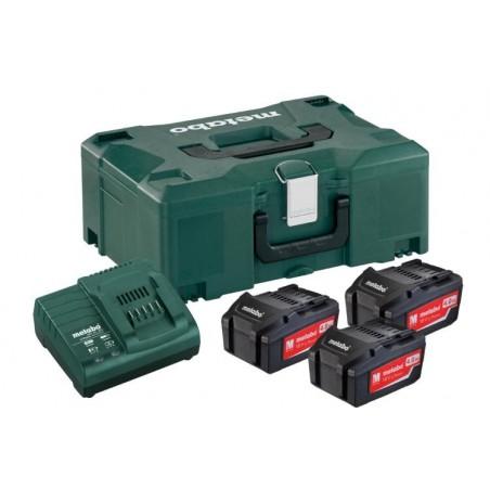 Σετ Φόρτισης 3 x 4.0 Ah μπαταρίες , 1x φορτιστής ASC 30–36 V