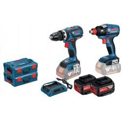 GSB 18 V-EC Professional + GDX 18 V-EC Professional