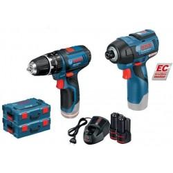 GSB 10,8-2-LiProfessional + GDR 10,8 V-EC Professional